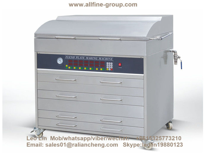 Flexographic Printing Polymer Plate Making Machine 600*400mm Exposure Size